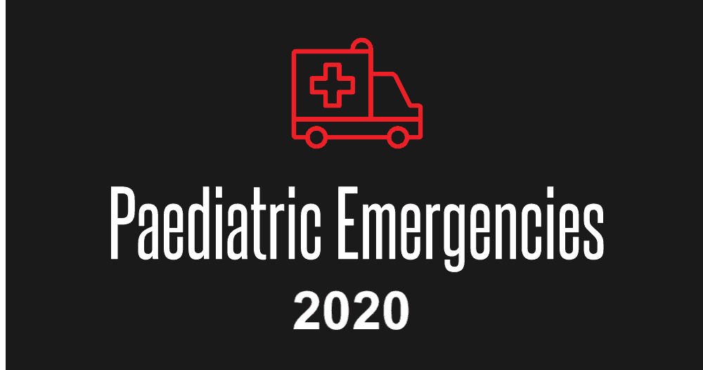 Paediatric Emergencies 2020 tickets are now on sale
