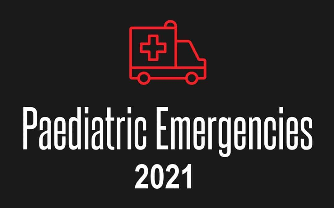 Paediatric Emergencies 2021 Announcement